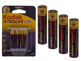4 Kodak batteries : AAA / LR03