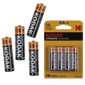 4 Kodak batteries : AA / LR6