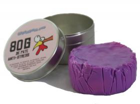Changeable purple putty