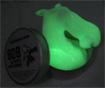 Papate phosphorescente verte