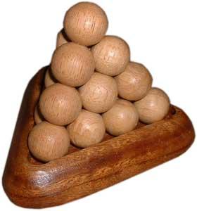Puzzle Balls pyramide