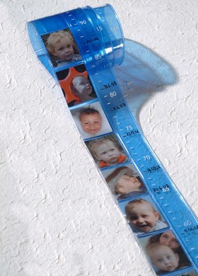 Blue child scale