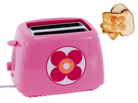 Pink smart toaster