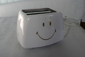 'Smiley' smart toaster