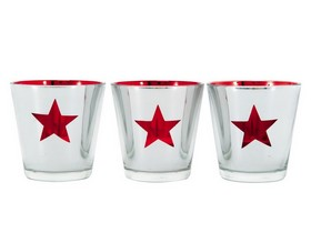 The red star glasses
