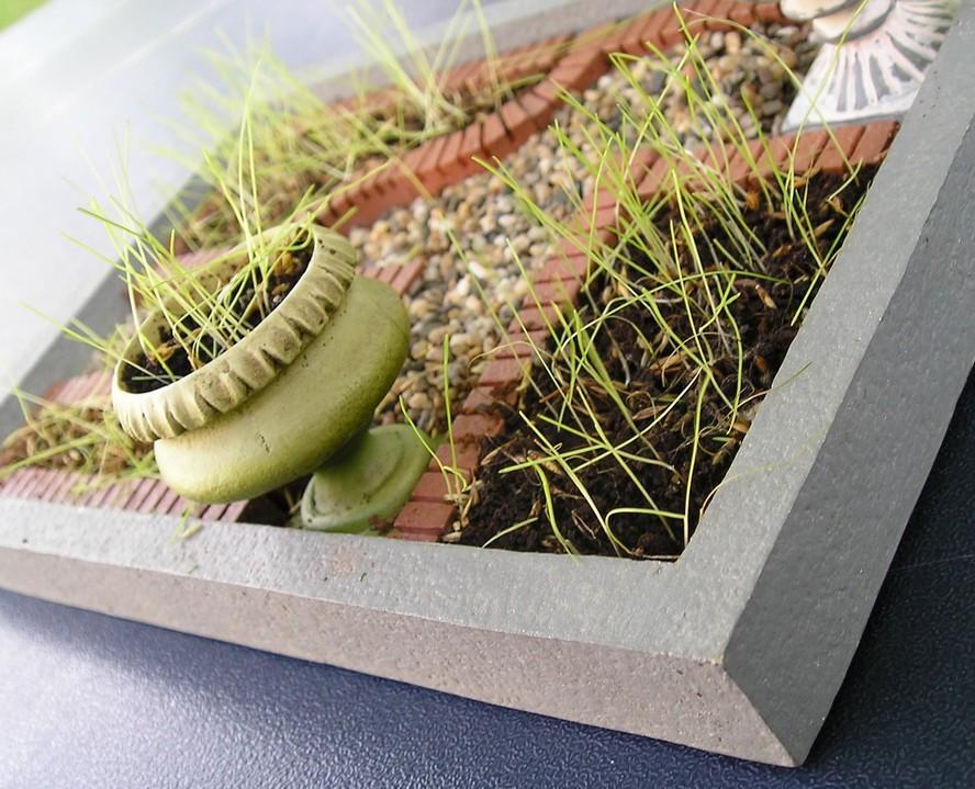 Jardin miniature maison d co le dindon for Deco jardin miniature