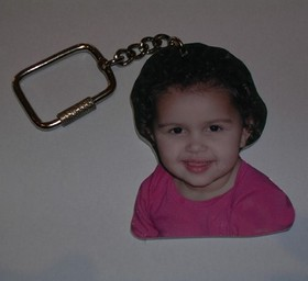 The picture keychain
