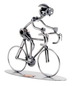 Figurine Cycliste Hinz & Kunst