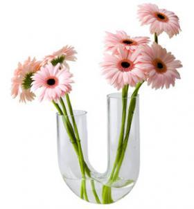 Vase en U