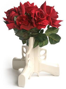 'Guns & Roses' Vase