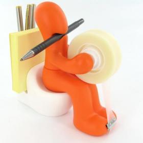 Porte-crayons WC
