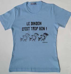 T-shirt Femme - Bleu ciel - S