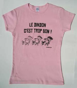 Women's T-shirt - Pink - L