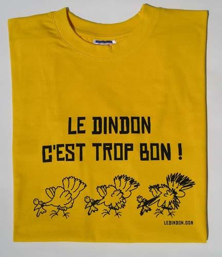 Ledindon Com men's t-shirt - gold yellow - l   gadgets & fun   le dindon