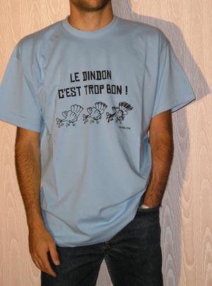 T-shirt Homme - Bleu ciel - XXL