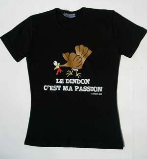 T-shirt Femme - Noir - L