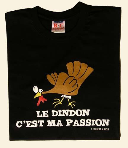 Ledindon Com men's t-shirt - black - l   gadgets & fun   le dindon