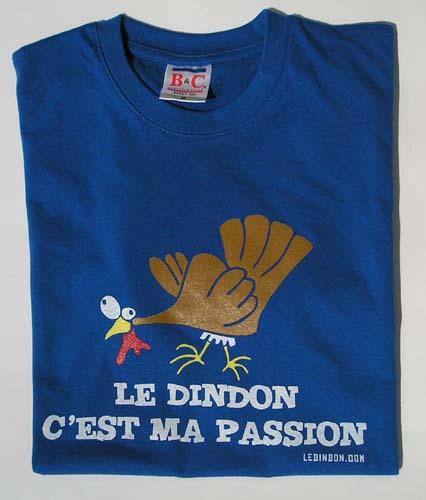 Ledindon Com men's t-shirt - royal blue - m   gadgets & fun   le dindon