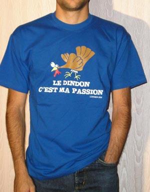 T-shirt Homme - Bleu roi - L