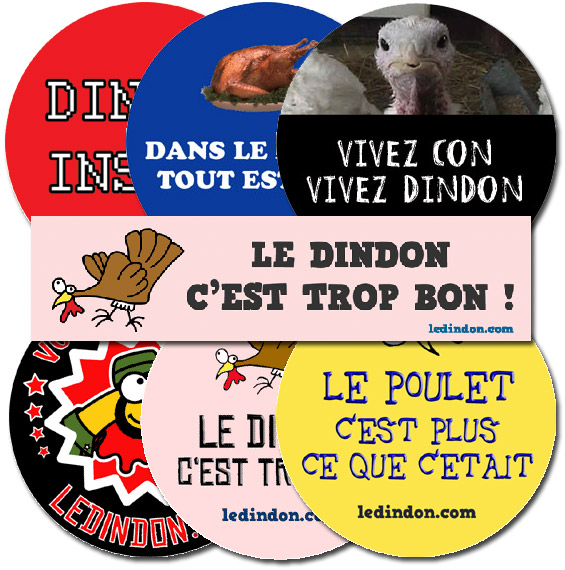 Ledindon Com the collection of stickers   gadgets & fun   le dindon