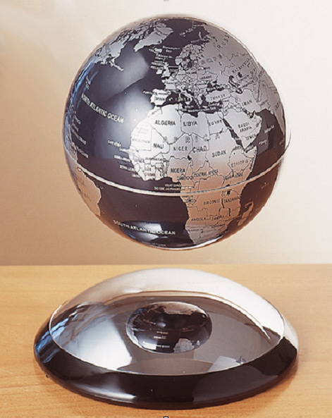 levitating globe science nature le dindon. Black Bedroom Furniture Sets. Home Design Ideas