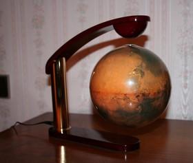 Floating globe big size - Mars