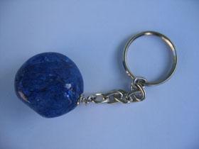 Blue Quartz keyring