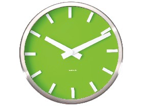 Clock Basic Green