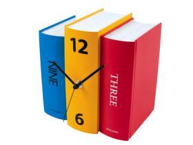 Book Clock (colours)