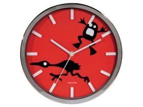 Funny Farm Clock 'Frog'