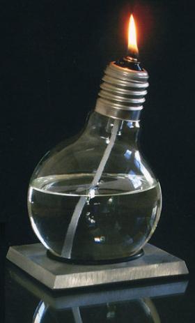 Lampe à huile konfuziLUX