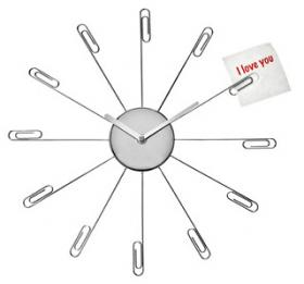 Clock Paperclips