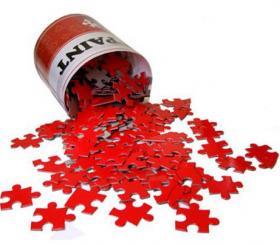 Paint puzzle