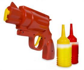Pistolet à ketchup