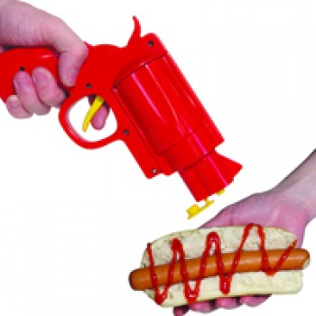 Pistolet ketchup cuisine le dindon for Pistolet cuisine