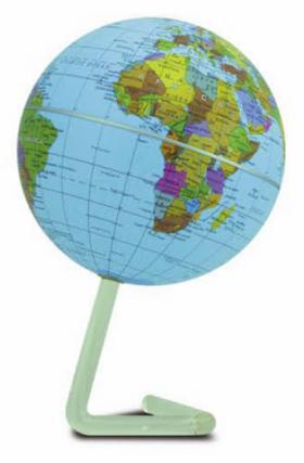 Globe tournant