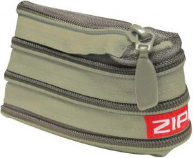 Zip-It Wallet - Green & Khaki