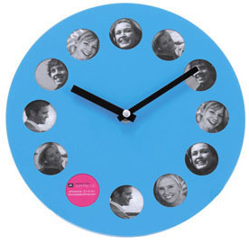 Photos holder Clock (blue)