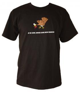 T-shirt Jamais sans mon dindon - Taille L