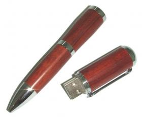 Wooden Pen / Flash drive 512 Mo