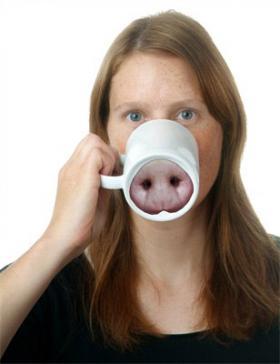 Mug cochon