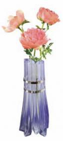 Vase tuyau transparent