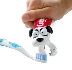 Toothpaste Dog