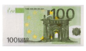 Serviettes euros