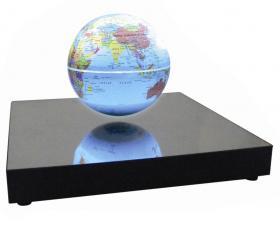 Globe en lévitation lumineux