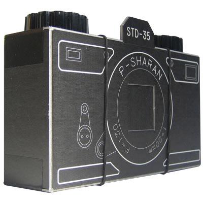 appareil photo en carton