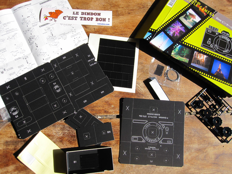 Ledindon Com cardboard camera   science & nature   le dindon