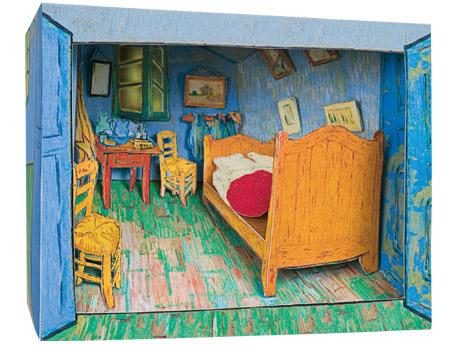 My Cardboard Van Gogh  Games  Plush  Le Dindon
