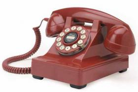 Retro Phone (Red)