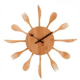 Clock Kitchen (Wood)